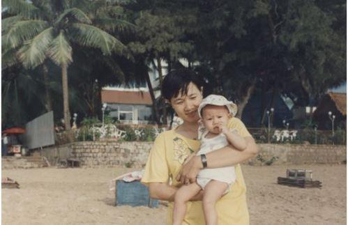 Thuy_tien& be1 Thuy Trang